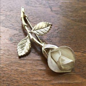 Jewelry - Silver Calla Lily Brooch